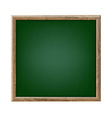 Green Chalk Board vector image
