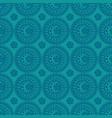 abstract ornate circles vector image