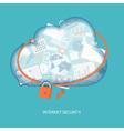cloud technology concept vector image