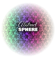 Abstract Floral Sphere vector image