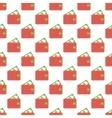 Purse pattern seamless vector image
