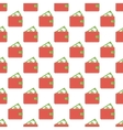 Purse pattern seamless vector image