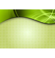 spring background in the green color vector image vector image