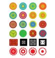 ornamental objects vector image vector image
