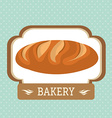 Bakery food and gastronomy vector image