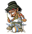 Tattoo Drummer vector image