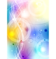 vibrant background eps 10 vector image