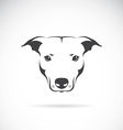 image of a dog head vector image vector image
