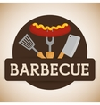 Bbq and butchery theme vector image