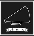 cinema icon vector image