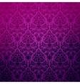 Damask vintage floral background pattern vector image