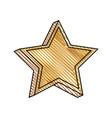 star prize decoration image vector image