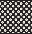 grungy pattern with scattered circle shapes vector image