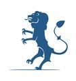 Heraldic elements Lion vector image