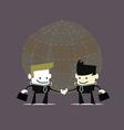 Businessmen Handshake vector image