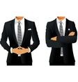 Business suit for men vector image vector image