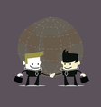 Businessmen Handshake vector image