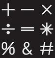 Mathematical vector image