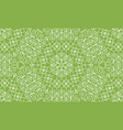vintage swirl greenery seamless pattern background vector image