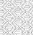 Slim gray connecting wavy stars vector image