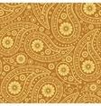Seamless Paisley background Elegant Hand Drawn vector image vector image