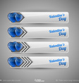design elements for infographics Business tabs vector image