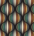 Retro repetitive wallpaper vector