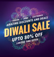 amazing diwali sale banner for your store with vector image
