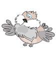 Cartoon sparrow Vector Image