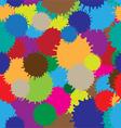 Colorful blots vector image