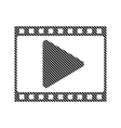 Film strip sign vector image vector image