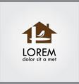 home bird logo vector image