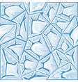 blue ice seamless pattern vector image