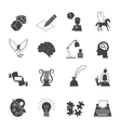 Muse Icon Set vector image