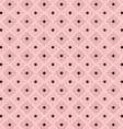 polka dot checkered pattern vector image