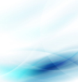 AbAbstract flow blue and space for your text vector image