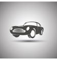 Car logo design Transport vintage vector image