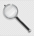 magnifier lens for search vector image