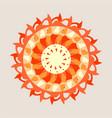 decorative design element vector image