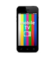 Mobile TV vector image