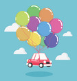 concept auto loans vector image