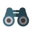 binoculars device isolated icon vector image