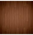 texture of wooden dark brown background vector image