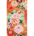 september kimono vector image