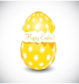 Beautiful Easter Egg vector image vector image