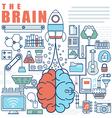 Infographics elements concept of Big Idea vector image