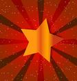 Retro Star Vintage card vector image vector image