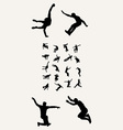 Parkour Tricking Silhouettres