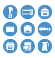 appliances vector image