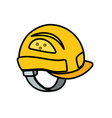 helmet equipment to industry service construction vector image